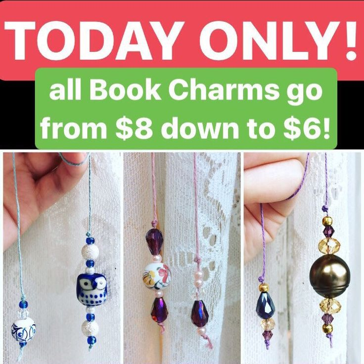 It's Tuesday! You know that means... #TwoDollarsOffTuesday! Today's deal is on all of book charms. They are normally $8, but for TODAY ONLY they are just $6. Get 'em while they're on sale! 📖✨  #shopsmall #callingallbooklovers #books #etsy #smallbusiness #singingwallflower #bookcharms #booklover #bookworm #booknerd #giftsforbookworms #cute #read #sale #todayonly