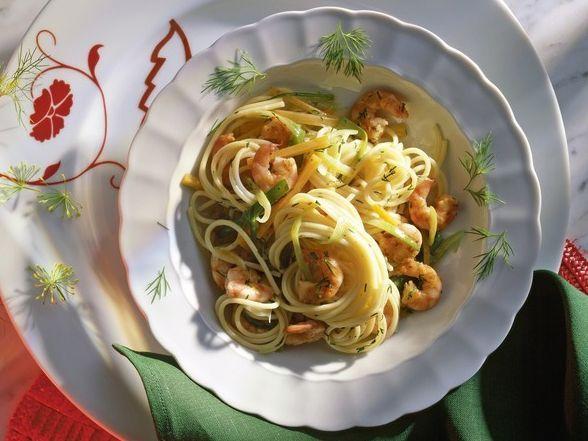 Der Klassiker Spaghetti al Olio kommt immer gut an! Schauen Sie sich das Rezept an und bekochen Sie ihre Freunde.