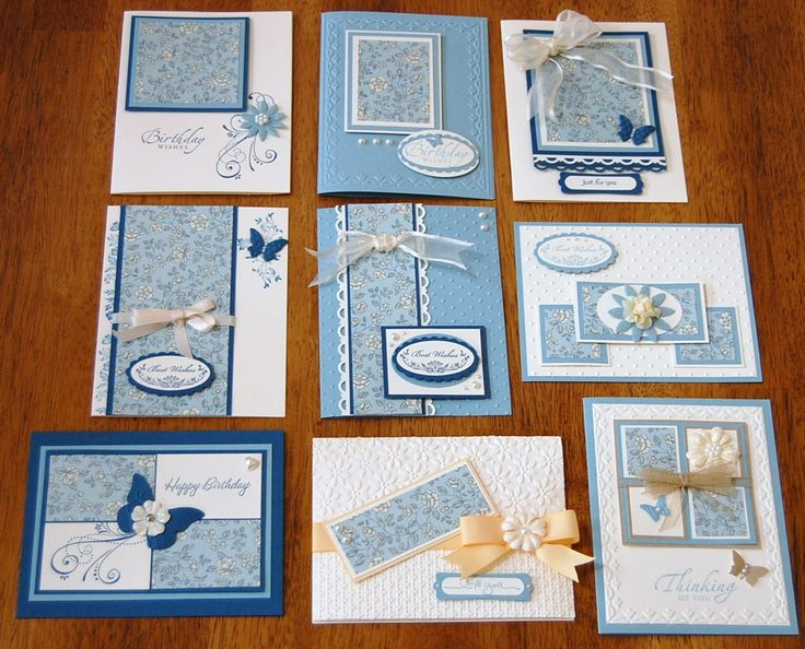 CARDS ( 3 of 3 pins) for 8x8 One Sheet Wonder card set by Kathy