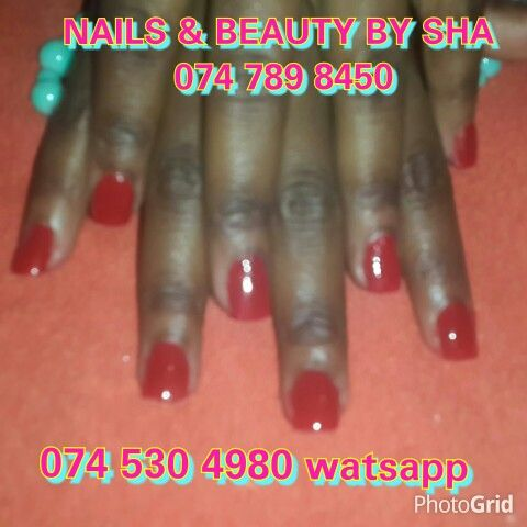 Clear tips n acrylic colour