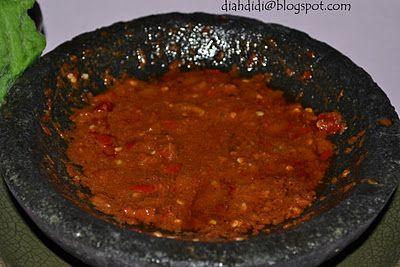 Diah Didi's Kitchen: Resep Sambel Penyet A la Warung Kaki lima