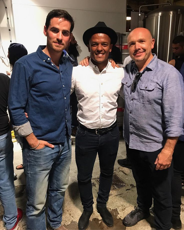 """206 Likes, 2 Comments - Robert Earnshaw (@robertearnshaw) on Instagram: """"""""Once upon a time"""" Captain Hook himself @colinodonoghue1 and Nigel @mainstreetbeer (my new friend)…"""""""