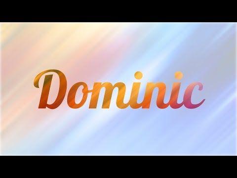 Significado De Dominic Nombre Ingles Para Tu Bebe Nino O Nina