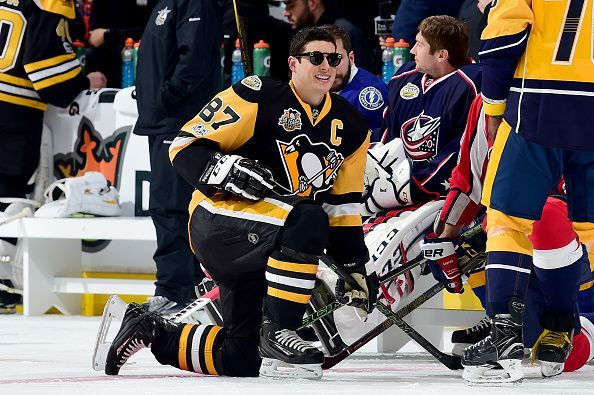 The NHL Accuracy Shooting event during the league's skills competition wasn't as easy as Pittsburgh Penguins captain Sidney Crosby made it look. Crosby came into the event cold then was tasked with trying to hit all four targets as quickly as possible.