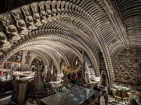 HR Giger Museum Bar: Gruyères, Switzerland | 21 Extraordinary Destinations That Will Change Your Perception Of Reality