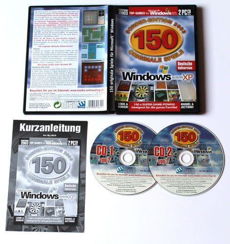 150 Spiele für Microsoft Windows Sonder-Edition 2003 für PC