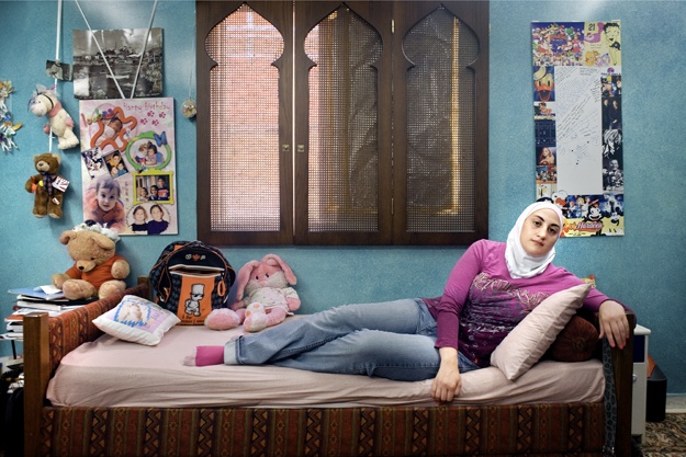"""A Girl And Her Room"", a photo project (and book) by photographer Rania Matar"