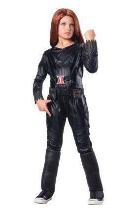 disfraz de viuda negra capitn amrica el soldado de invierno deluxe para nia