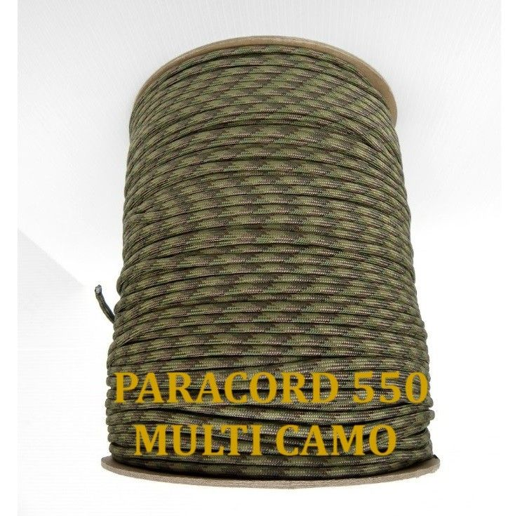 Paracord 550 Multi Camo - Hardware - Equipment