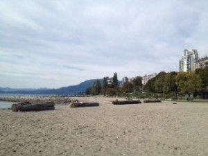 English Bay, Vancouver Canada beach review #Canada #travel #Englishbay