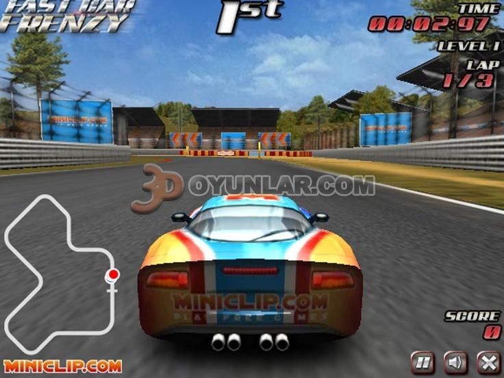 www.3doyunlar.com adresindeki 3d çılgın yarış oyunu hızlı araba sürmenin bütün zevkini tattırmaktadır. Sizde adres üzerinden bu oyunu ücretsiz oynayabilirsiniz.