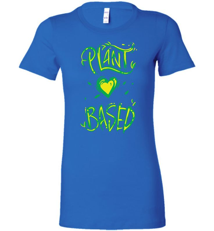 Plant Based Green (Women's Tee)