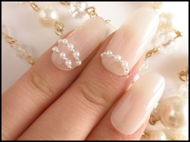 pearl nail art pictures - Best 25+ Pearl Nail Art Ideas On Pinterest Chrome Nail Colors