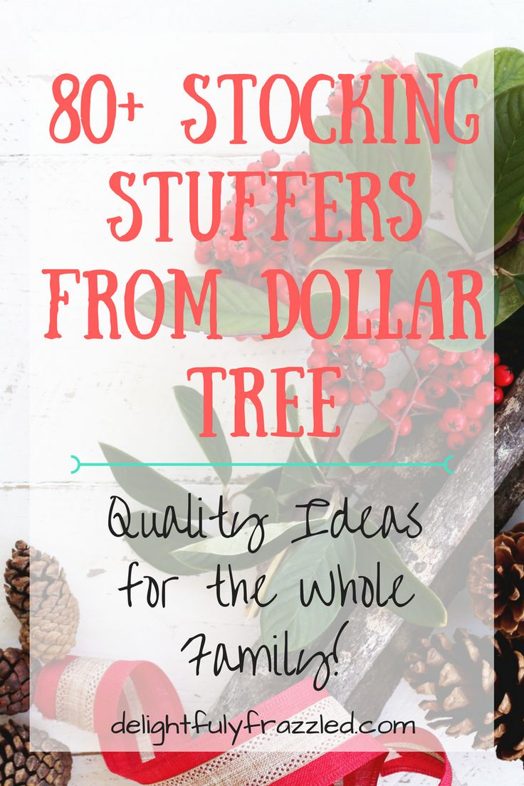 Save money on Christmas stockings this year with these affordable, unique stocking stuffers! From toys to electronic accessories, kitchen gadgets to calendars, and everything in between | Stocking Stuffers | Saving Money | Unique Gifts | Dollar Store Finds | 80+ Dollar Tree Stocking Stuffers