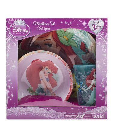 Disney Little Mermaid Princess Ariel Dinnerware Set Plate Bowl Tumbler  sc 1 st  Pinterest & 374 best Princess thingsDisney images on Pinterest | Baby deco Kid ...