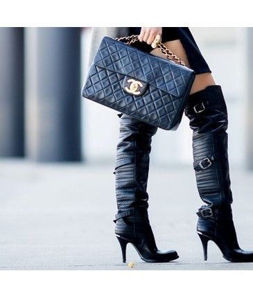 LOVE the boots & purse.....expensive taste I have!!!