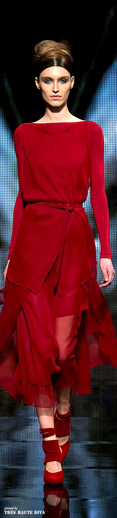 Donna Karan FW 2014-15 - New York Fashion Week | The House of Beccaria~