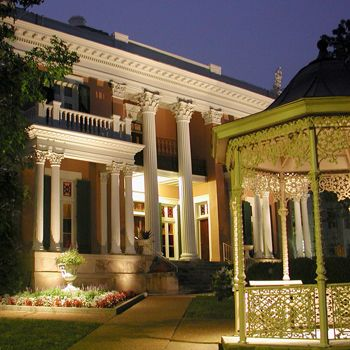 One of the largest house museums in Nashville, Belmont Mansion is 10,000-square-feet of beautiful architecture!