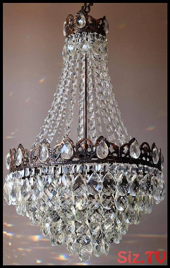 Free Express Delivery Vintage Crystal Chandelier Luxury Home