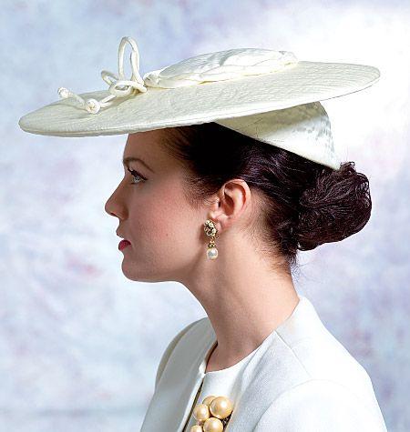 V8052 | Misses' Vintage Hats | Accessories | Vogue Patterns (##SEARCHPatterns)
