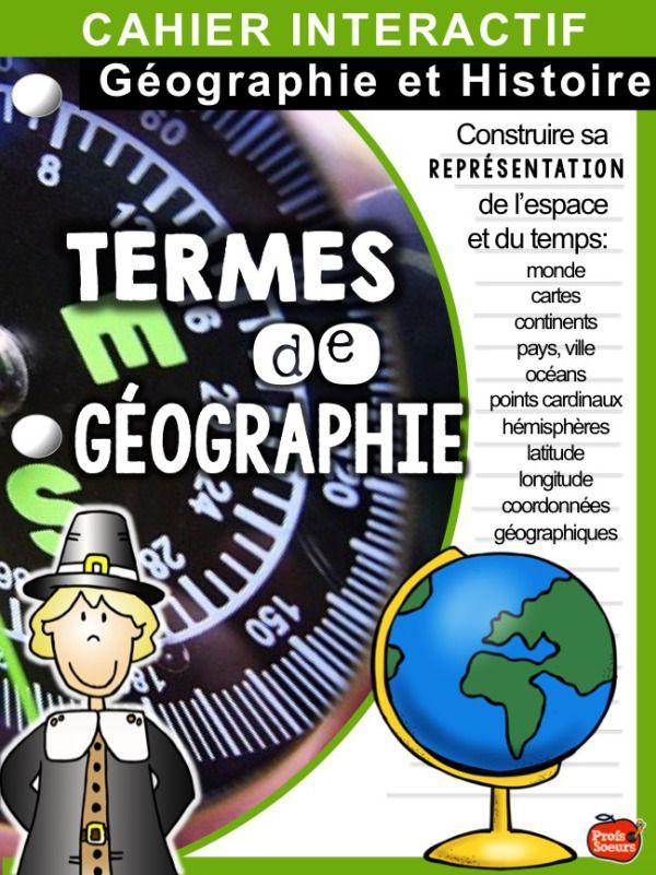 NOUVEAU cahier interactif de géographie / Profs et Soeurs