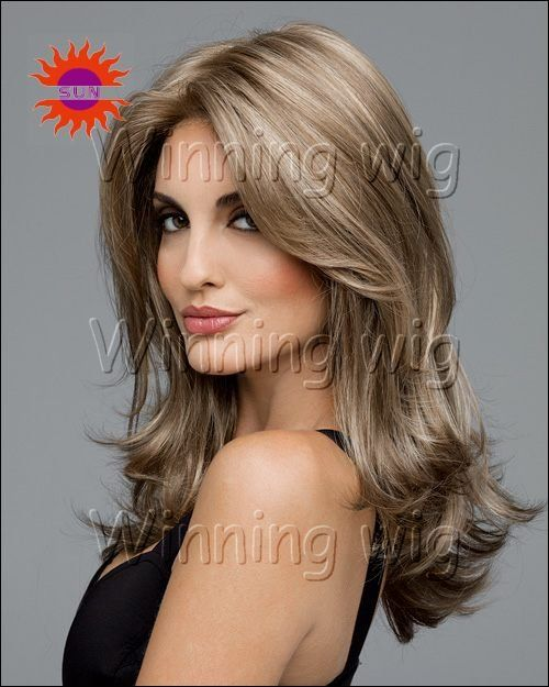 Dark Blonde 44 Free Hair Color Pictures: Charming And Sexy 18 Inch Dark Ash Blonde Brazilian