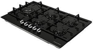 Buy Russell Hobbs RH86GH701B, 5 Burner Gas Hob, 86cm Wide, Black Glass from our Gas Hobs range - Tesco £119.00 Was £144.00