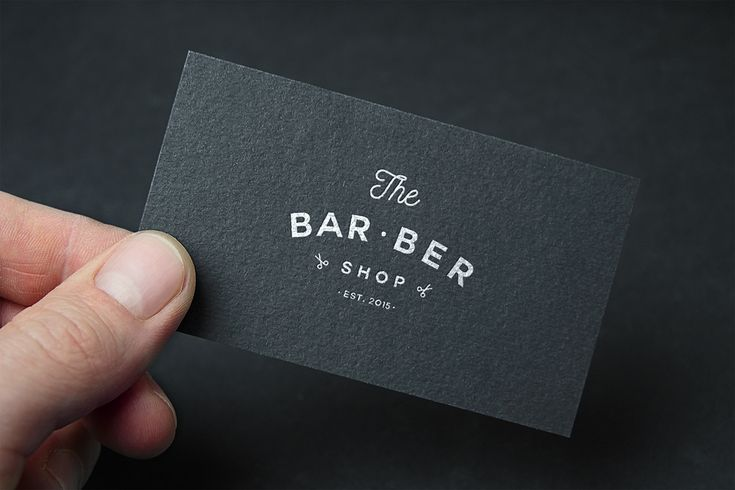 The BarBer shop on Behance