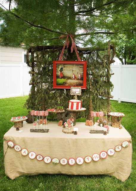 40 parties based on children's books. From Little Red Riding Hood to The Lorax. Tons of themes and great party ideas.