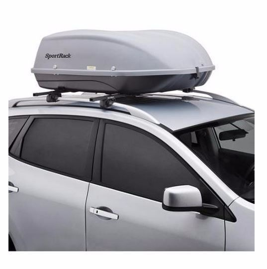 Roof Mount Cargo Box Storage Travel Lift Car Suv Luggage Rack Rooftop Carrier Ebay