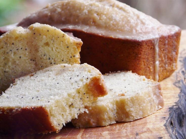 Vanilla Poppy Seed Loaf | breads | Pinterest