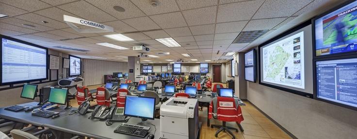 Chester county emergency operations center advanced av