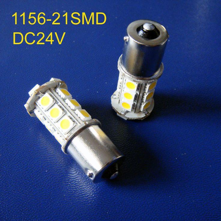 High quality 24V DC10-30V BA15s truck led Light Bulb lamp 1156,BAU15s,P21W,PY21W,R5W,1141 24v led lamps free shipping 2pcs/lot #Affiliate