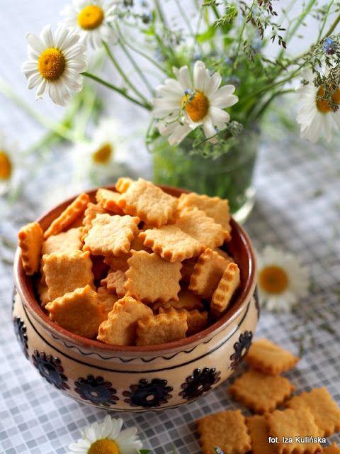 Ciasteczka serowe imprezowe | Smaczna Pyza