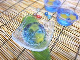 七夕ゼリー by 東大阪病院 [クックパッド] 簡単おいしいみんなのレシピが270万品