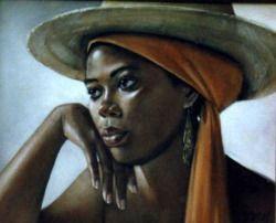afro-art-chick:   Samere Tansley -English-born...
