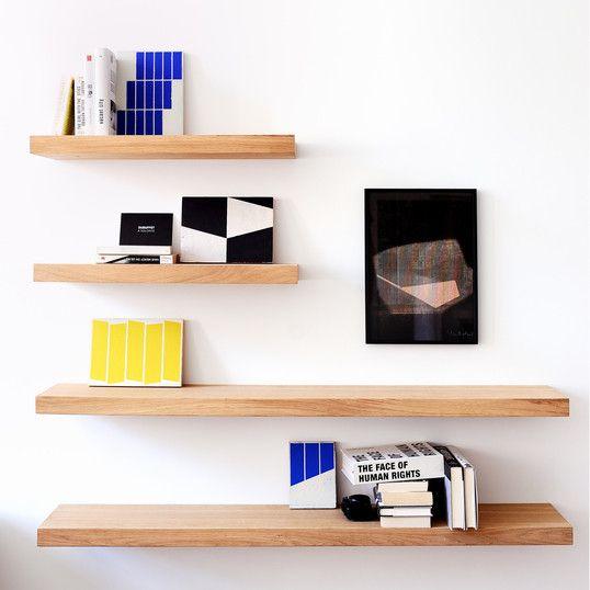 Oak Wall Floating Shelf 210