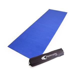 66fit Yoga Mat Plus - 6mm x 183cm x 61cm - Blue  $39.00