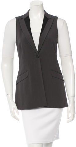 Rag & Bone Wool Notch Lapel Vest