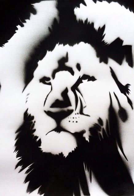 #art #arte #kunst #illustratie #illustration #graff #graffiti #graffitiart #sprayart #streetart #lion #leeuw #nature #natuur #black #zwart #blackwhite #zwartwit