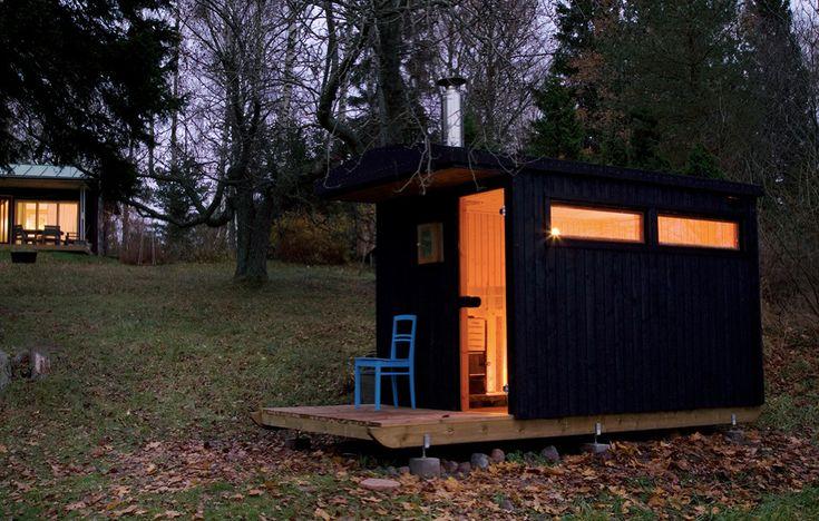 Sauna shack.