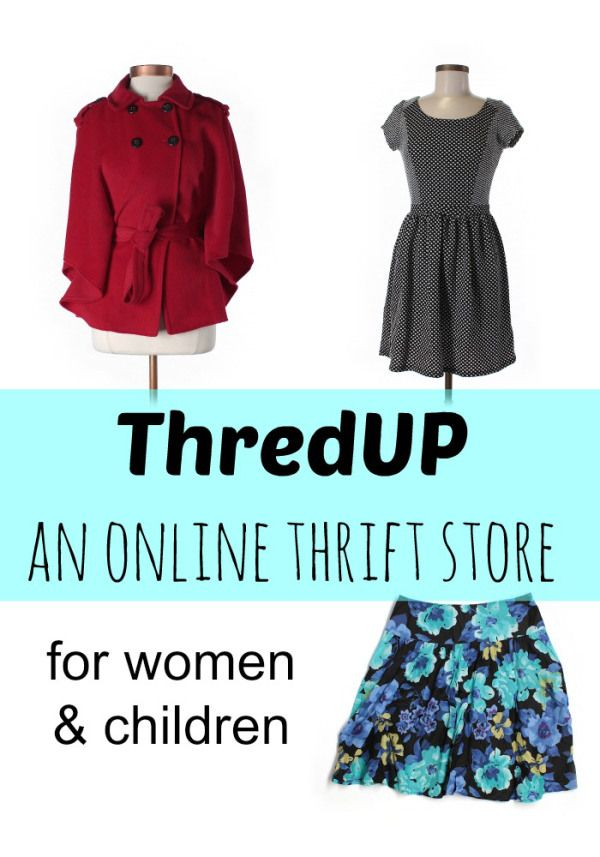 ThredUP - an online thrift store