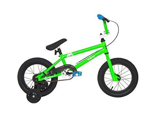 Dave Mirra Boys 8048-30T 14-Inch Valens/Mirraco Bike, Neo Green/Black/Blue by Dave Mirra. Dave Mirra Boys 8048-30T 14-Inch Valens/Mirraco Bike, Neo Green/Black/Blue. 14 inch.
