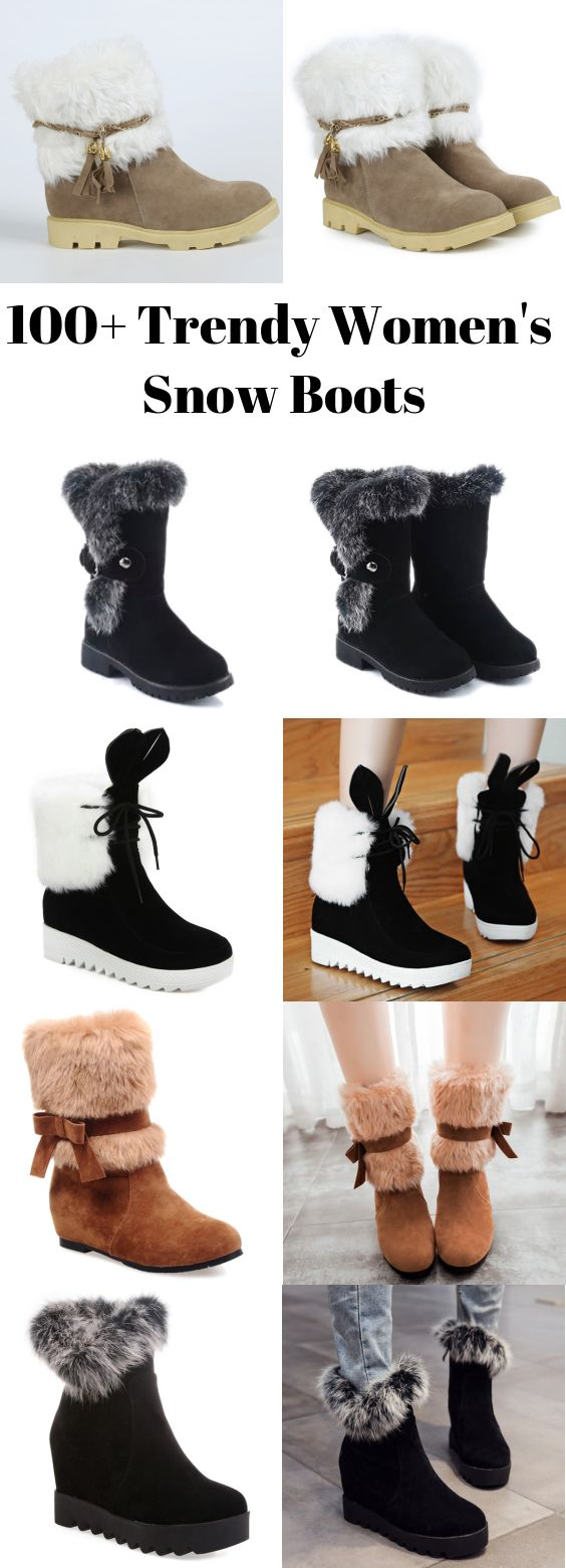 100 Trendy Women S Snow Boots Are Free Of Choices Sammydress