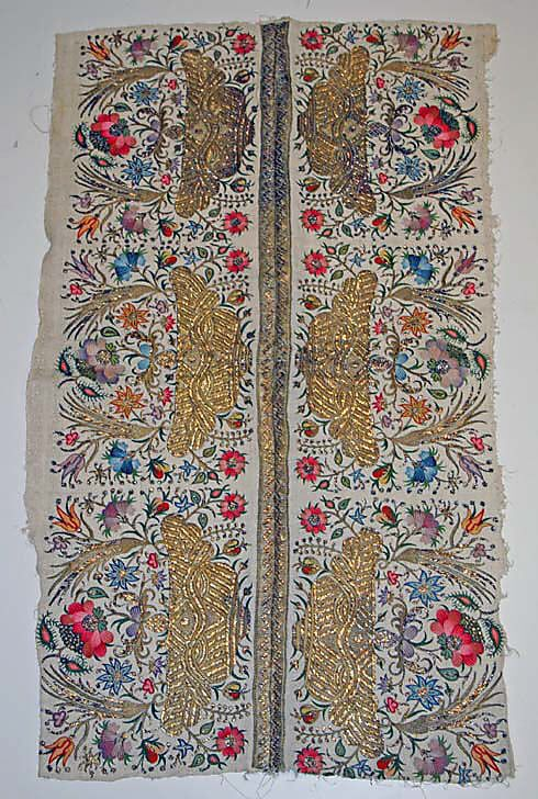 Textile  Date:     19th century Culture:     Turkish Medium:     cotton, silk