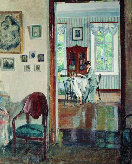 Sergei Vinogradov  In the Home   1910