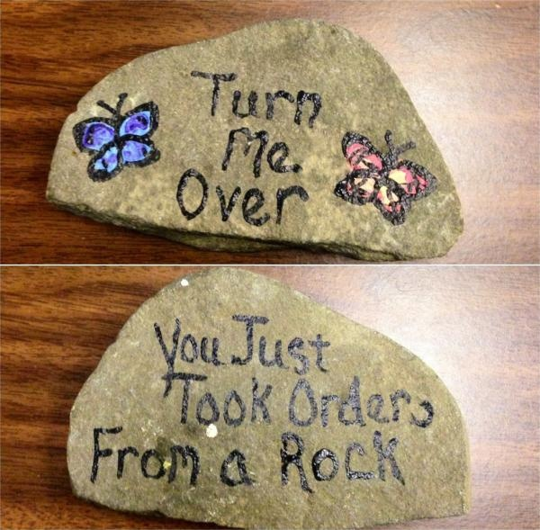 """Rock trolling. The girls would get a kick out of this. Perfect """"gift"""" to make for mom & dads garden while at Grandmas summer camp..."""