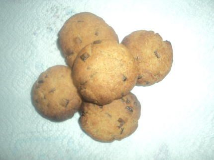 http://www.lesfoodies.com/aurmelie/recette/mini-cookie-au-pepite-chocolat  cookie ( photo de moi )