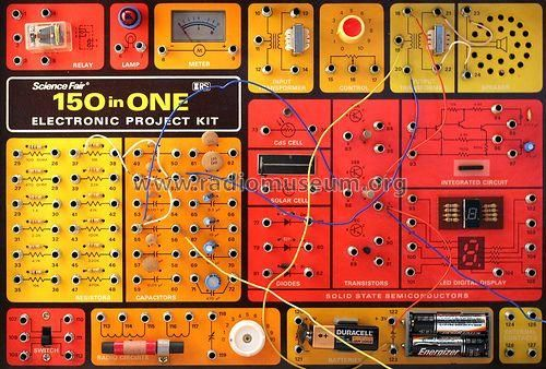radio shack 50 in 1 | 150 in One Electronic Project Kit; Radio Shack Tandy, (ID = 329524 ...