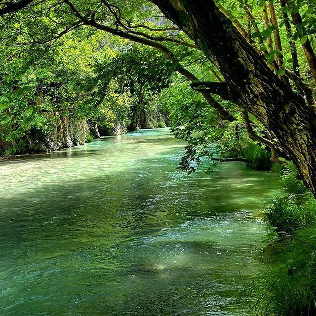 Acheron River, Epirus, Greece, by Mirela Felicia Catalinoiu - Parga